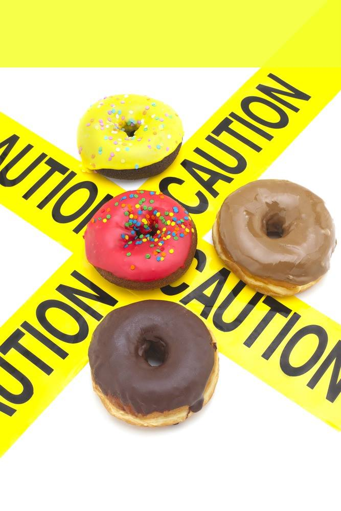 Have you ever labeled donuts as BAD?  Have you ever beat yourself up for eating one?  Or 4?