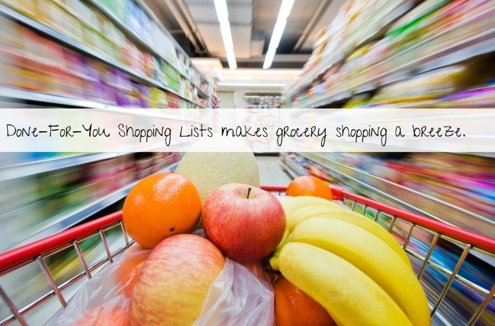 Just print and go! - Healthy eating can be easy.
