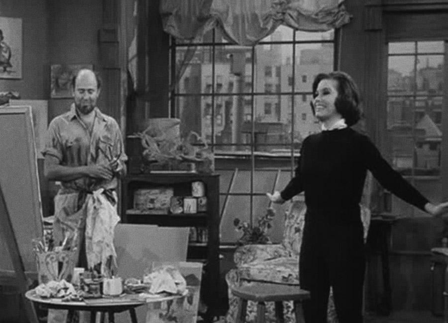 Carl Reiner & Mary Tyler Moore