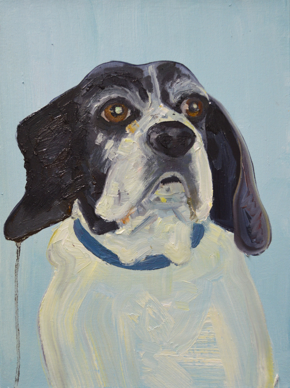 Eddie Forever , oil on canvas, 2014