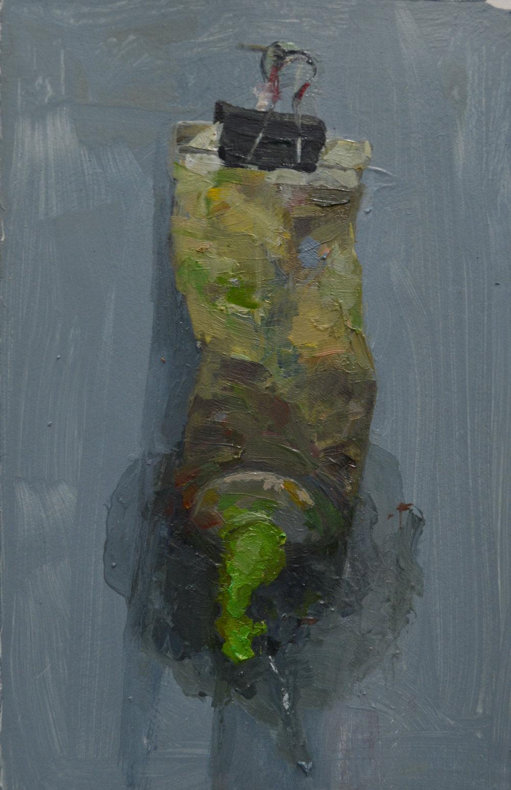 Amy-Applegate-Green Paint Tube1.JPG