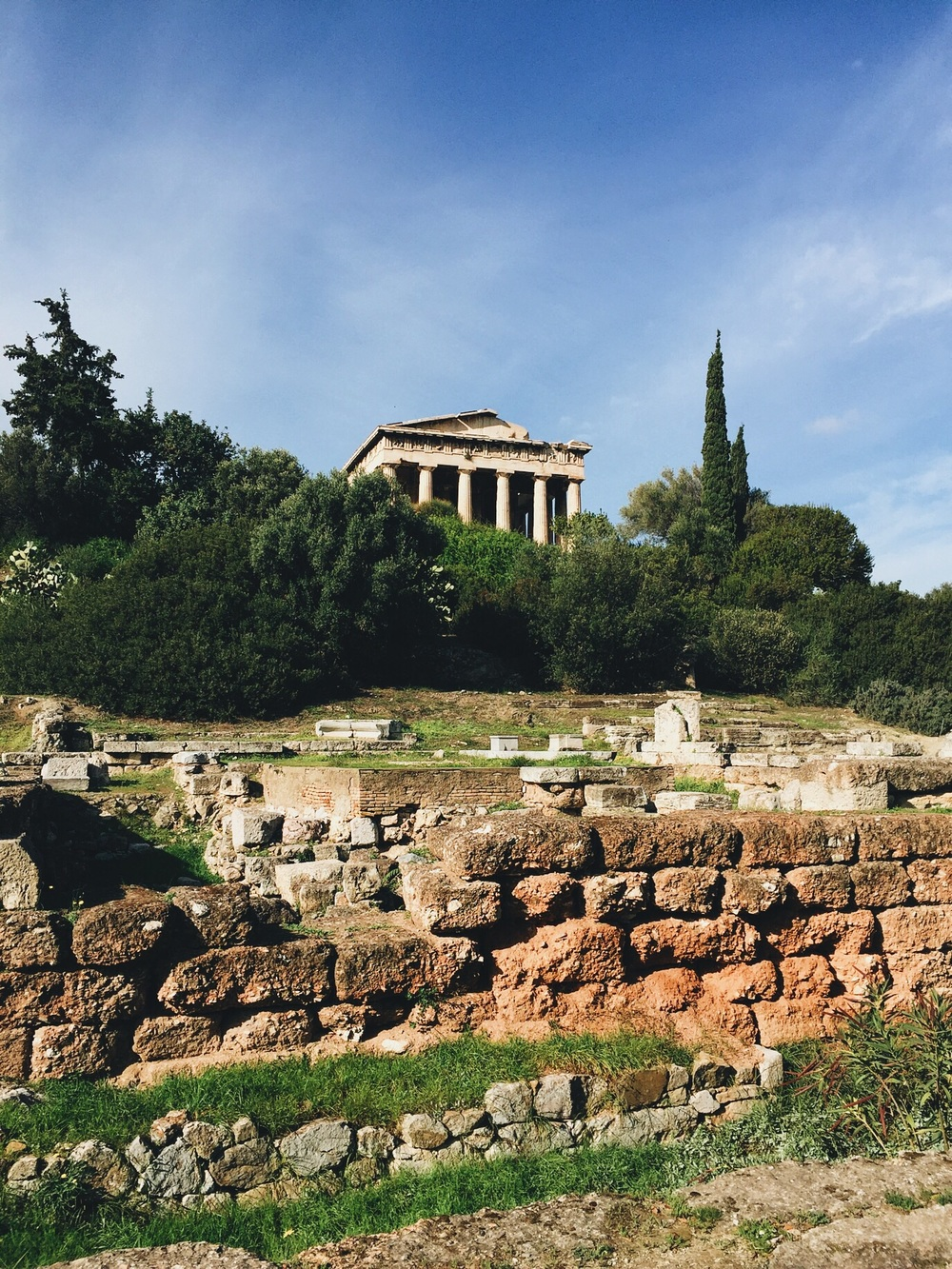 The Temple of Hephaestus