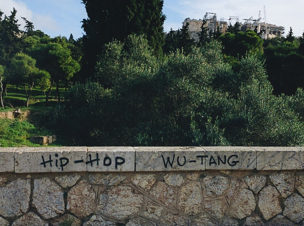 Protect ya neck. Wu-tang is represented even in Athens