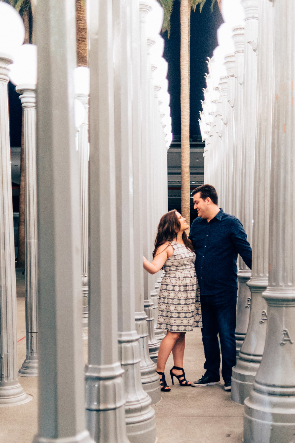 Urban Lights Los Angeles Wedding Photographer | Wilde Sparrow Photography