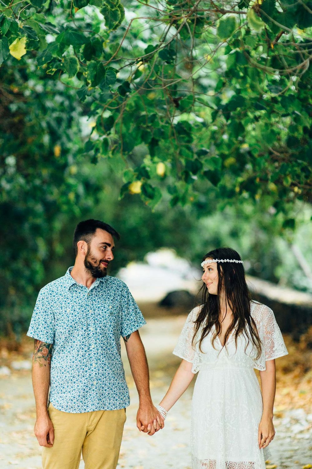 Big Island Engagement Photography Beach