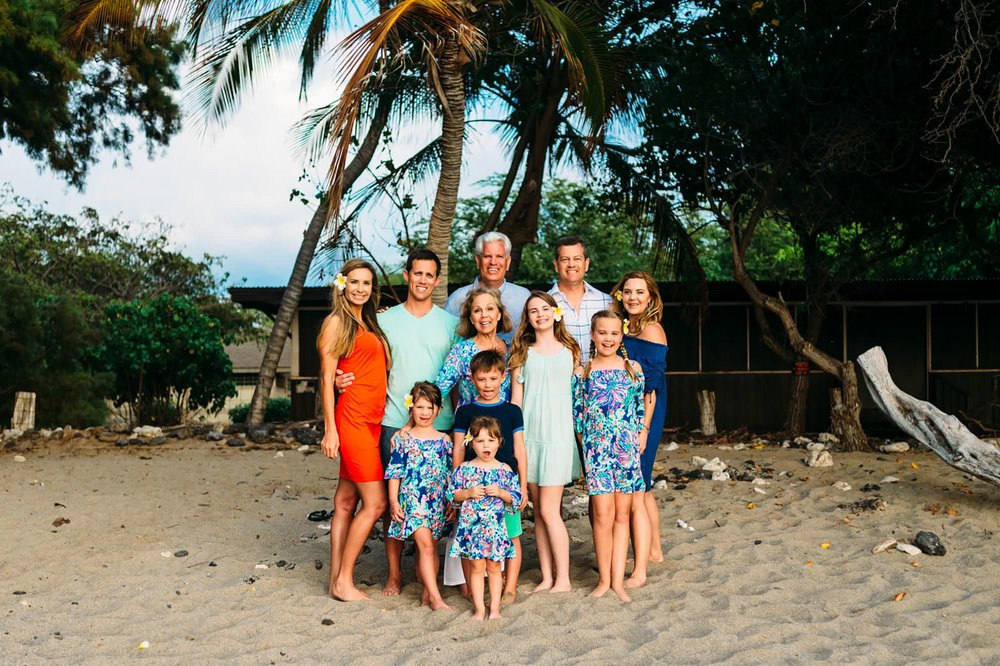 Waikoloa Large Family Photographer