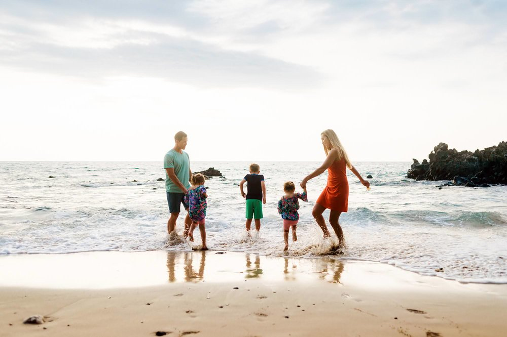 Sunset Beach Family Photographer Hawaii