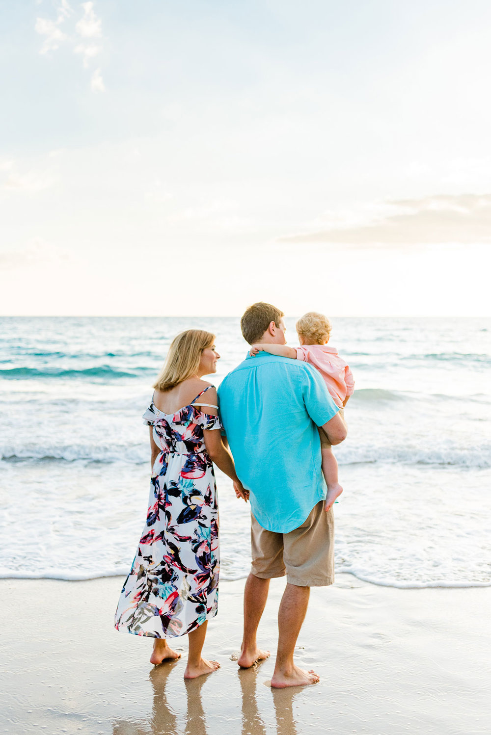 Sunset Big Island Family Photographer Waikoloa