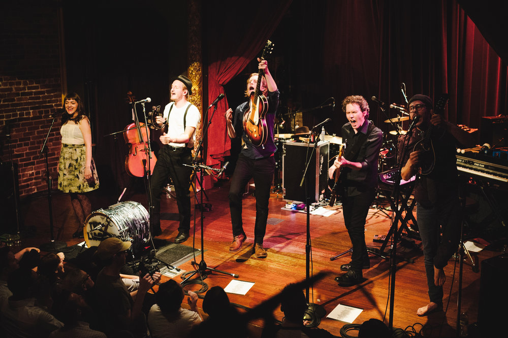 The Lumineers at Columbia City Theater for KEXP