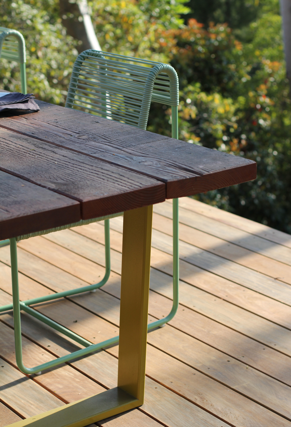 IDV Cord Collection - Plank Table