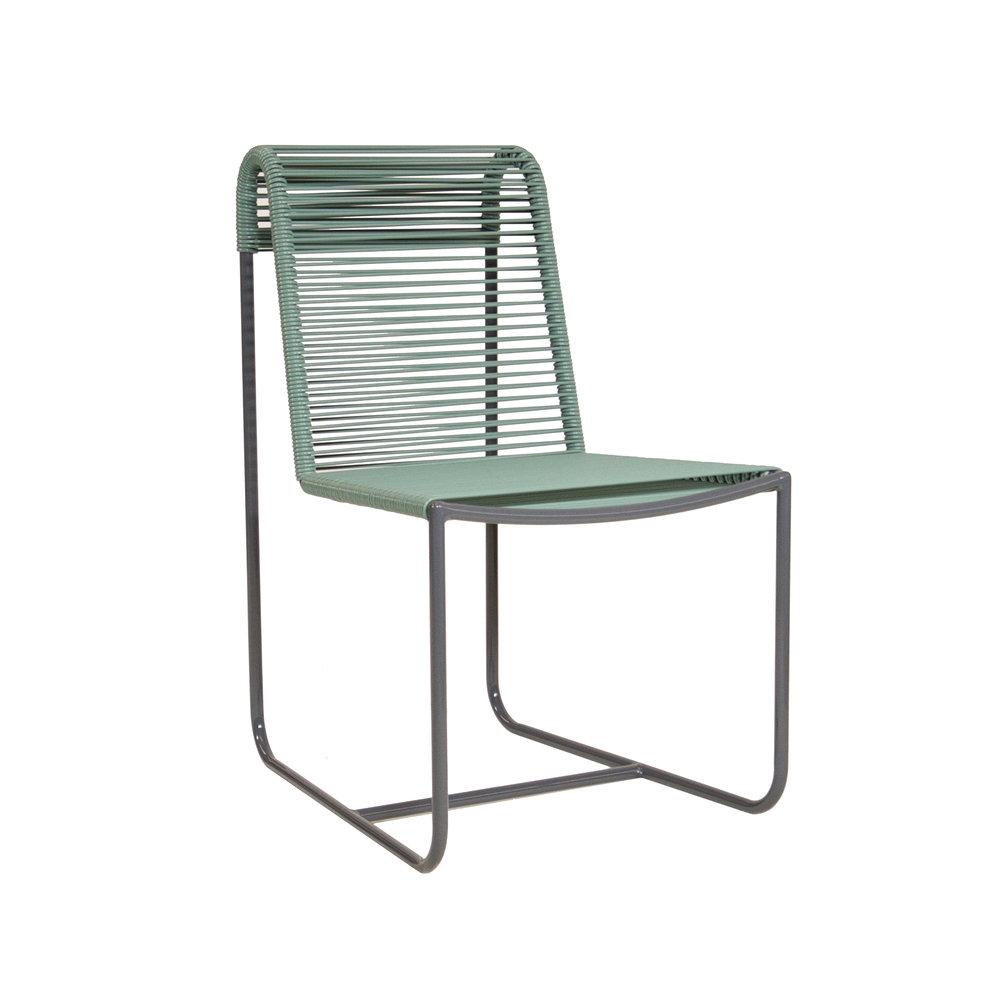 Beau Cord Dining Chair   Moss