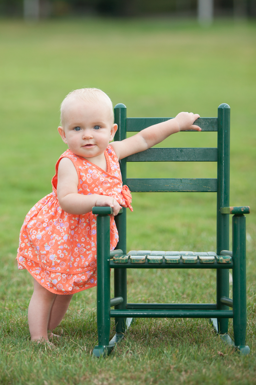 toddler baby girl rocking chair posing .jpg