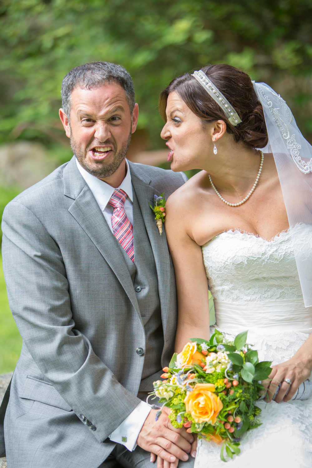 wedding funny faces bride groom .jpg