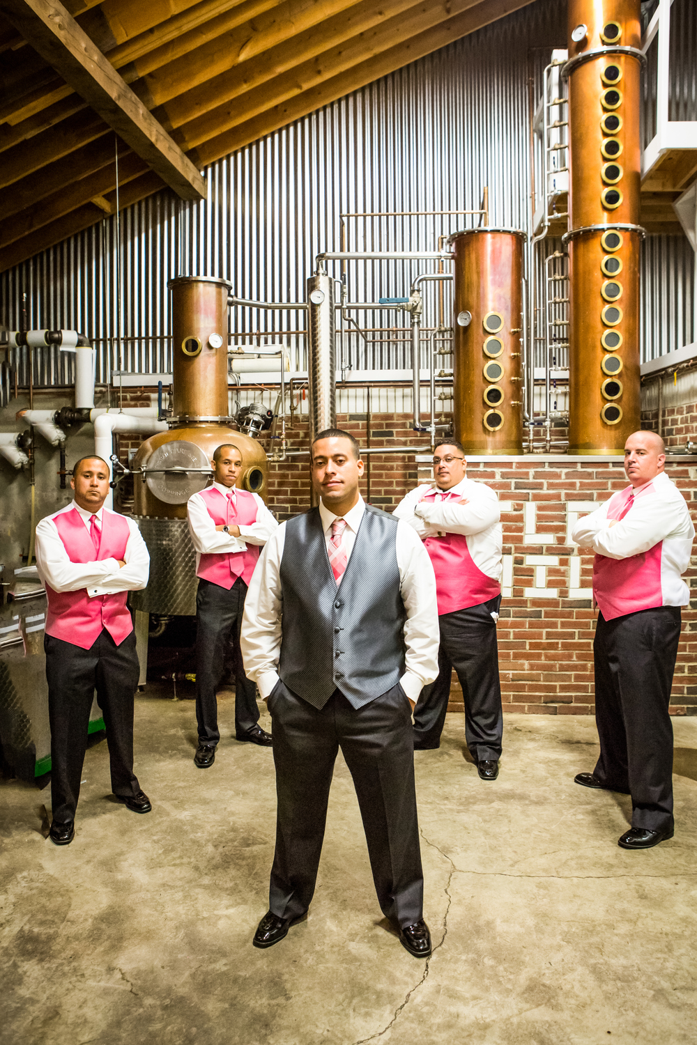 wedding groomsman distillery flag hill winery .jpg