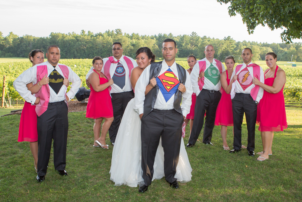 wedding superhero flag hill winery.jpg
