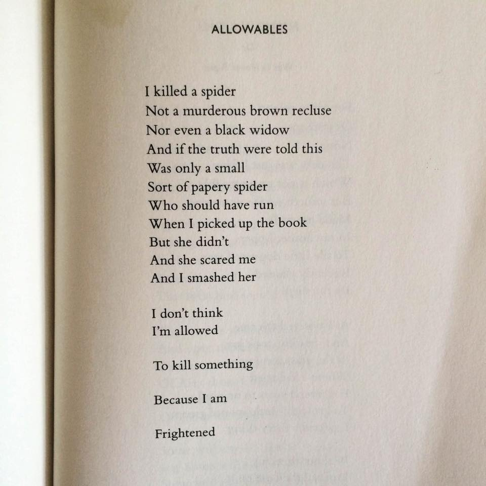 Nikki Giovanni Allowables