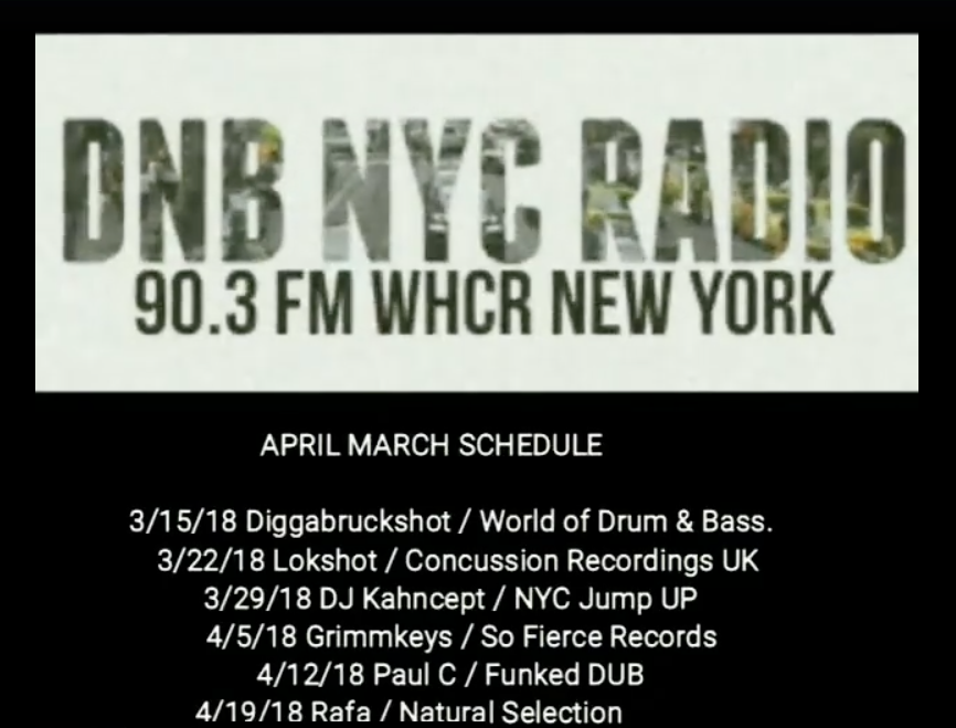 DNB NYC RADIO March April 2018 Promo screen shot 2.png