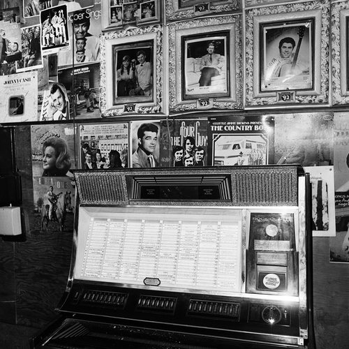 Jukebox, Tootsie's Orchid Lounge, Nashville, TN, 1972