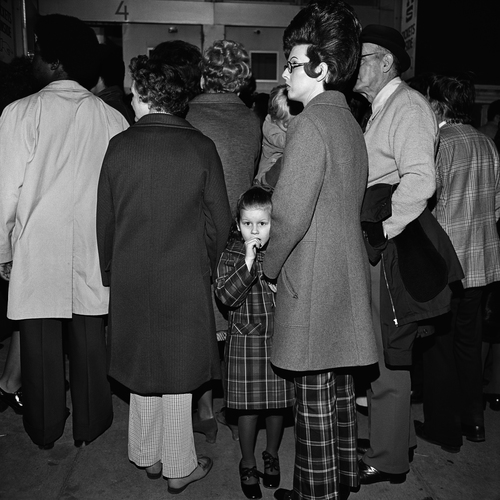 Waiting In Line (3), Grand Ole Opry, Nashville, TN, 1974