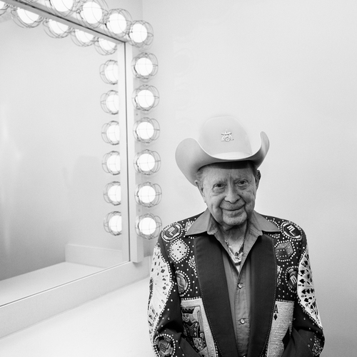 Little Jimmy Dickens in His Dressing Room, Ryman Auditorium, Nashville, TN, 2010