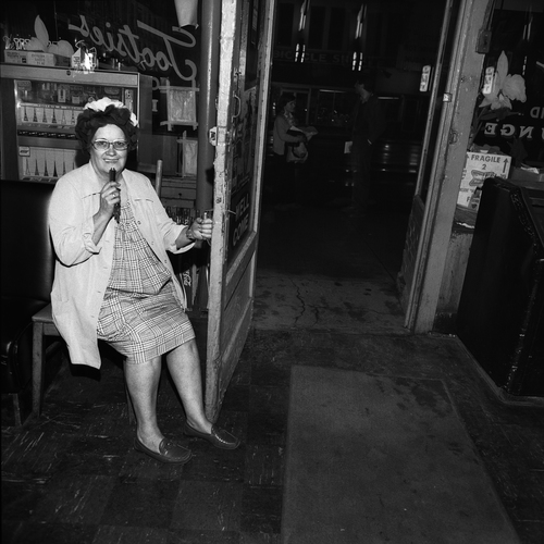 Tootsie At Closing Time, Tootsie's Orchid Lounge, Nashville, TN, 1974