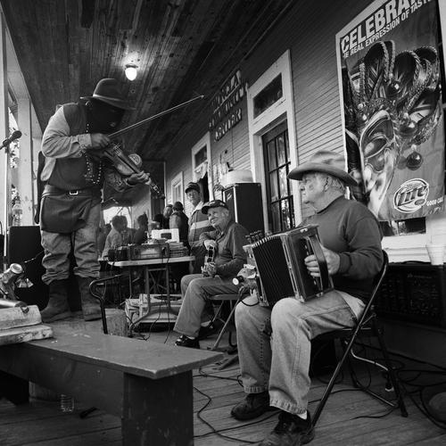 Gerard Dupuy Band, Fais Do-Do, Marksville, LA, 2008