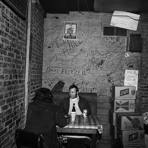 Interior (2), Tootsie's Orchid Lounge, Nashville, TN, 1974