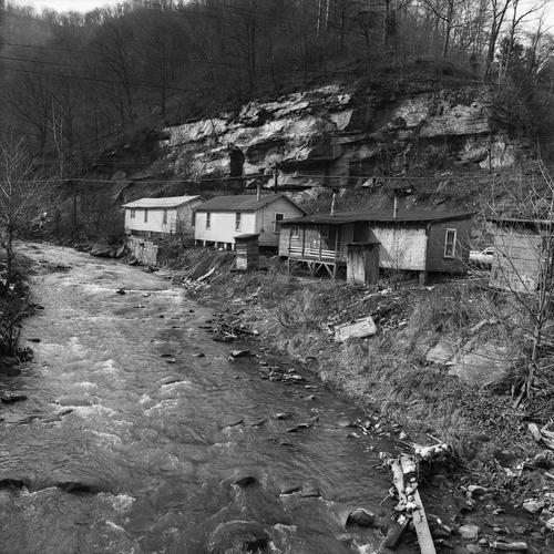 Hillside Houses, Pikeville, KY, 1974