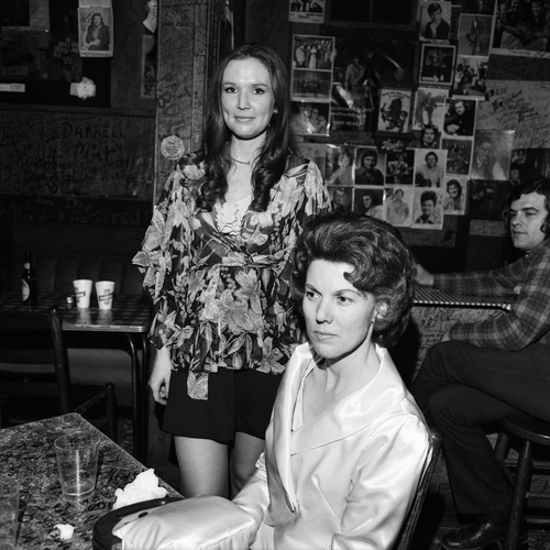 Music Fans, Tootsie's Orchid Lounge, Nashville, TN, 1974
