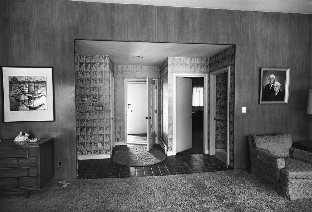 Foyer, Newton, MA, 1971