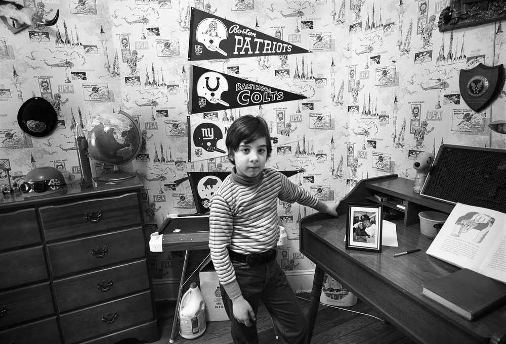 Adam, His Room, New Bedford, MA, 1971