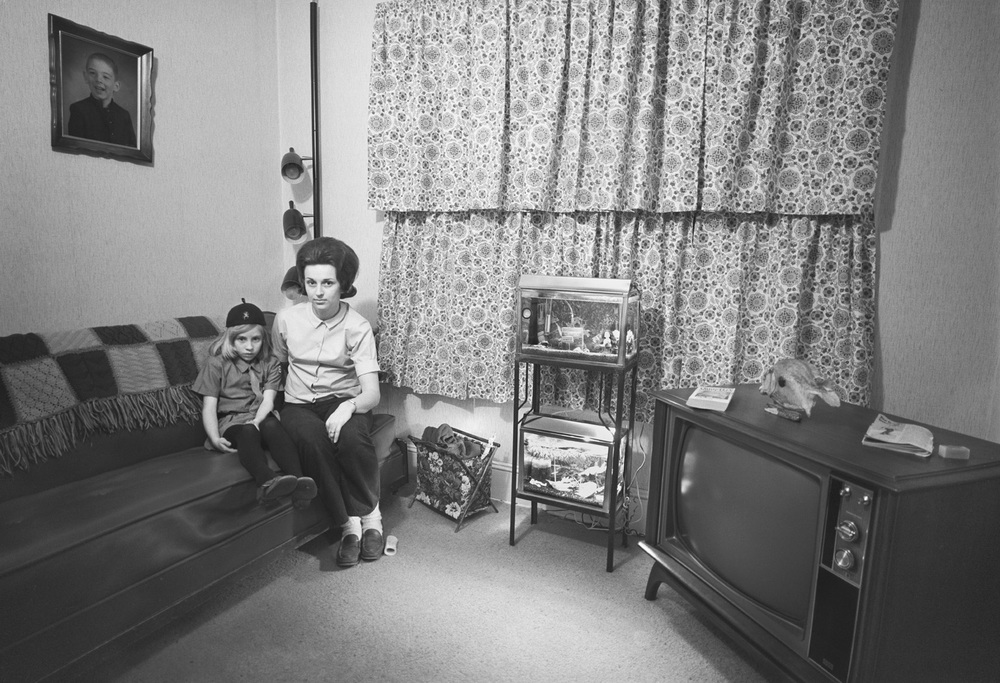 Barbara's Friends, Living Room, New Bedford, MA, 1972