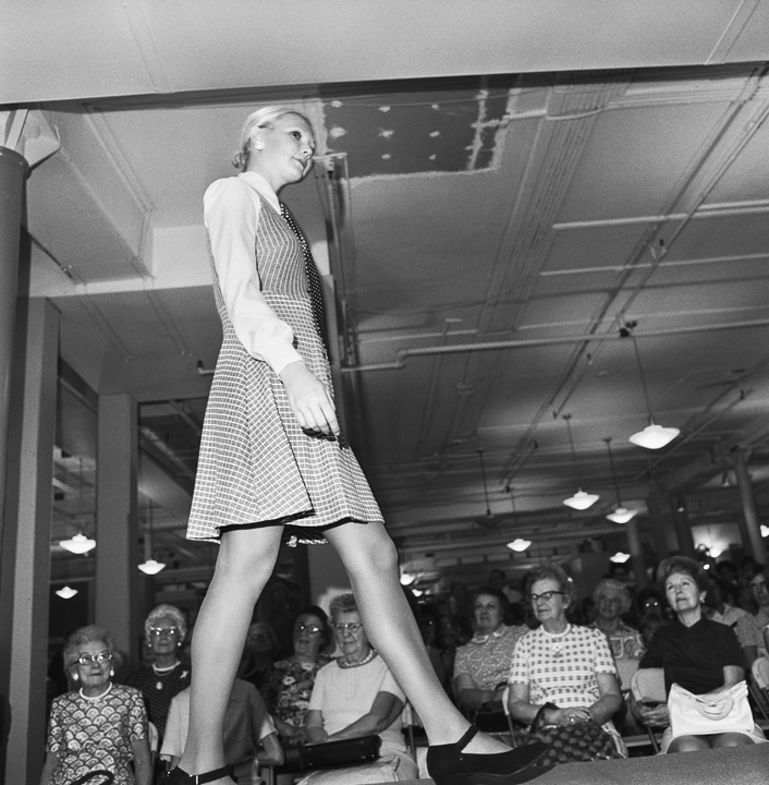 Fashion Show, Charity Benefit, Filene's, Boston, MA, 1972