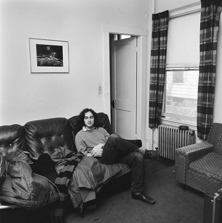 Bob, Our Apartment, Cambridge, MA, 1972