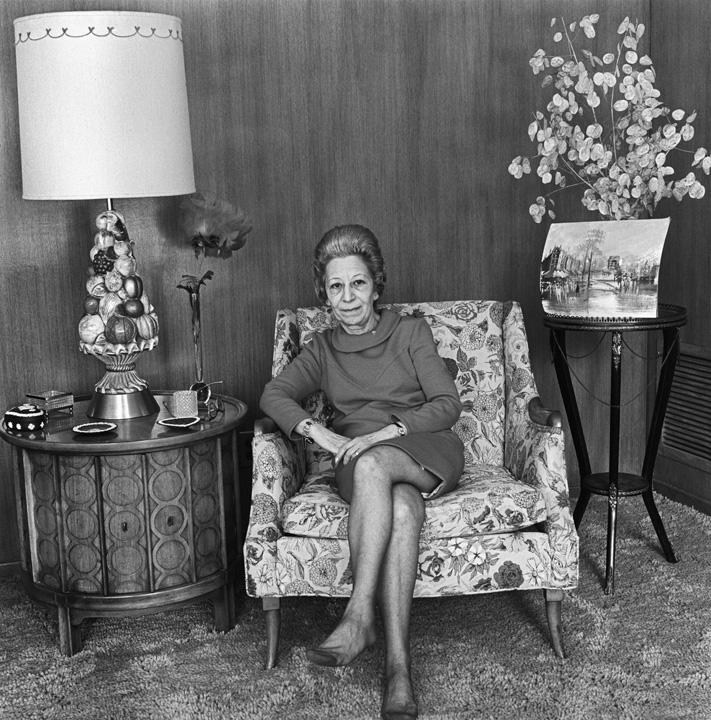 Aunt Marcia, Newton, MA, 1971