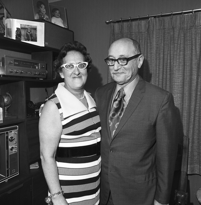 Pearl and Louie, My Parents' 35th Anniversary Party, Dartmouth, MA, 1972