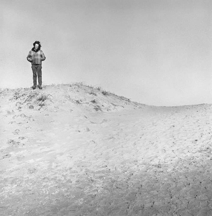 Self-Portrait, Horseneck Beach, Dartmouth, MA, 1971