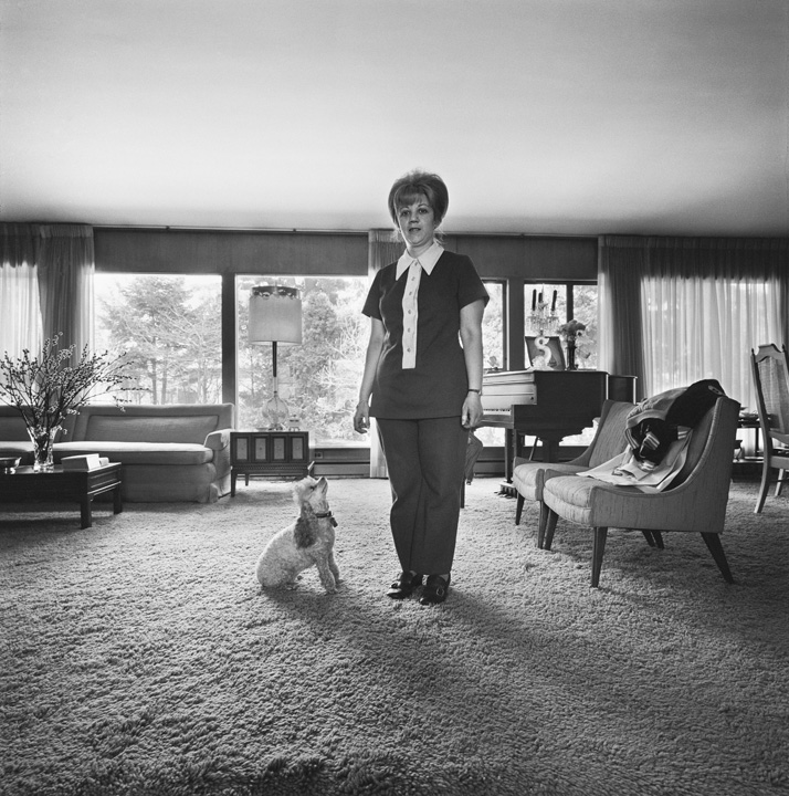 Chammie and Barbara, Living Room, Newton, MA, 1971