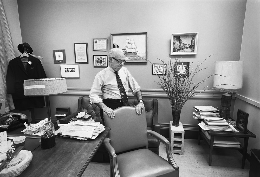 Dad, His Office, Boston, MA, 1971