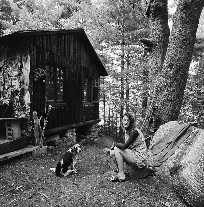 Margret and Fred, Hancock, NH, 1971