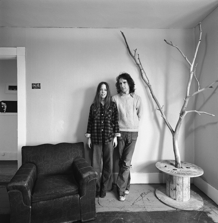 Pam and John, Cambridge, MA, 1971