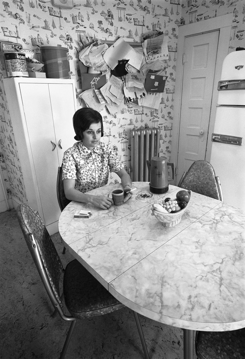 Friend of Barbara's, Kitchen, New Bedford, MA, 1971