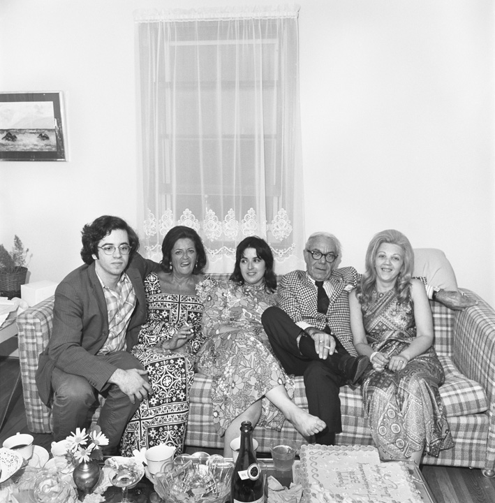 Self Portrait with Family, Dartmouth, MA, 1972