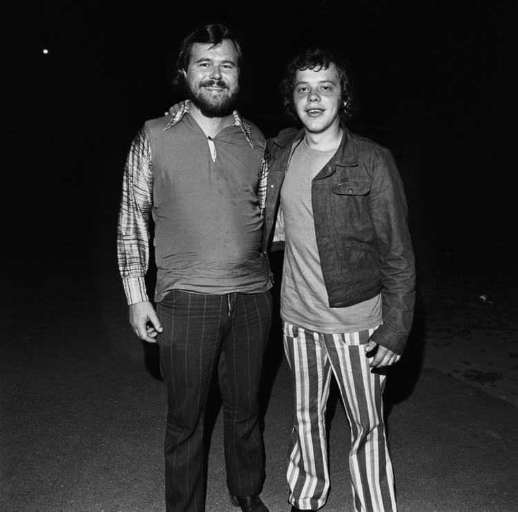 Two Young Men, Thompson Speedway, Thompson, CT, 1972