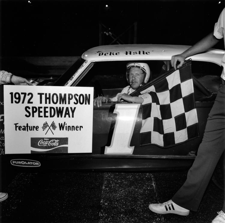Deke Astle, Thompson Speedway, Thompson, CT, 1972