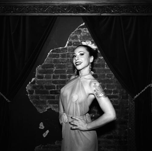Angie Pontani, This Is Burlesque, Corio, New York, NY, 2009