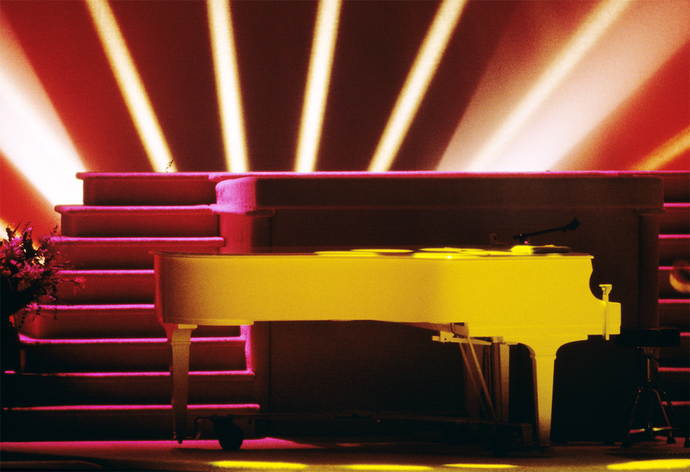 Mickey's Piano, The Gilley Theatre, 1995