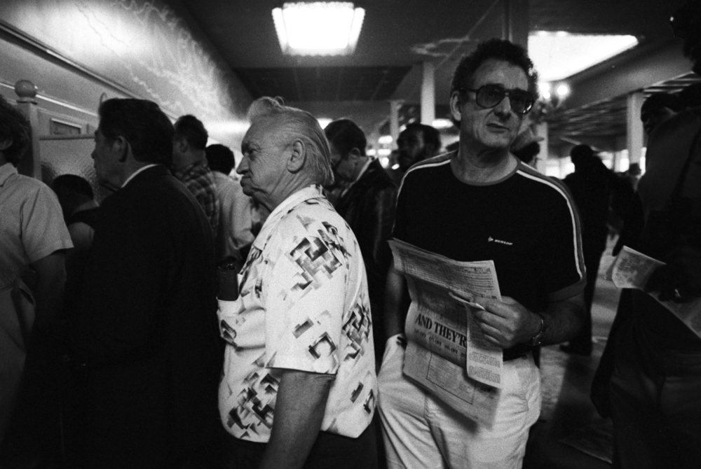 Betting Line, Santa Anita, 1986