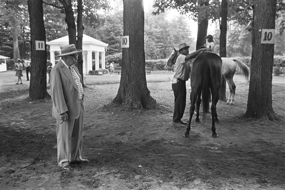Saddling Trees, Saratoga Race Course, 1975