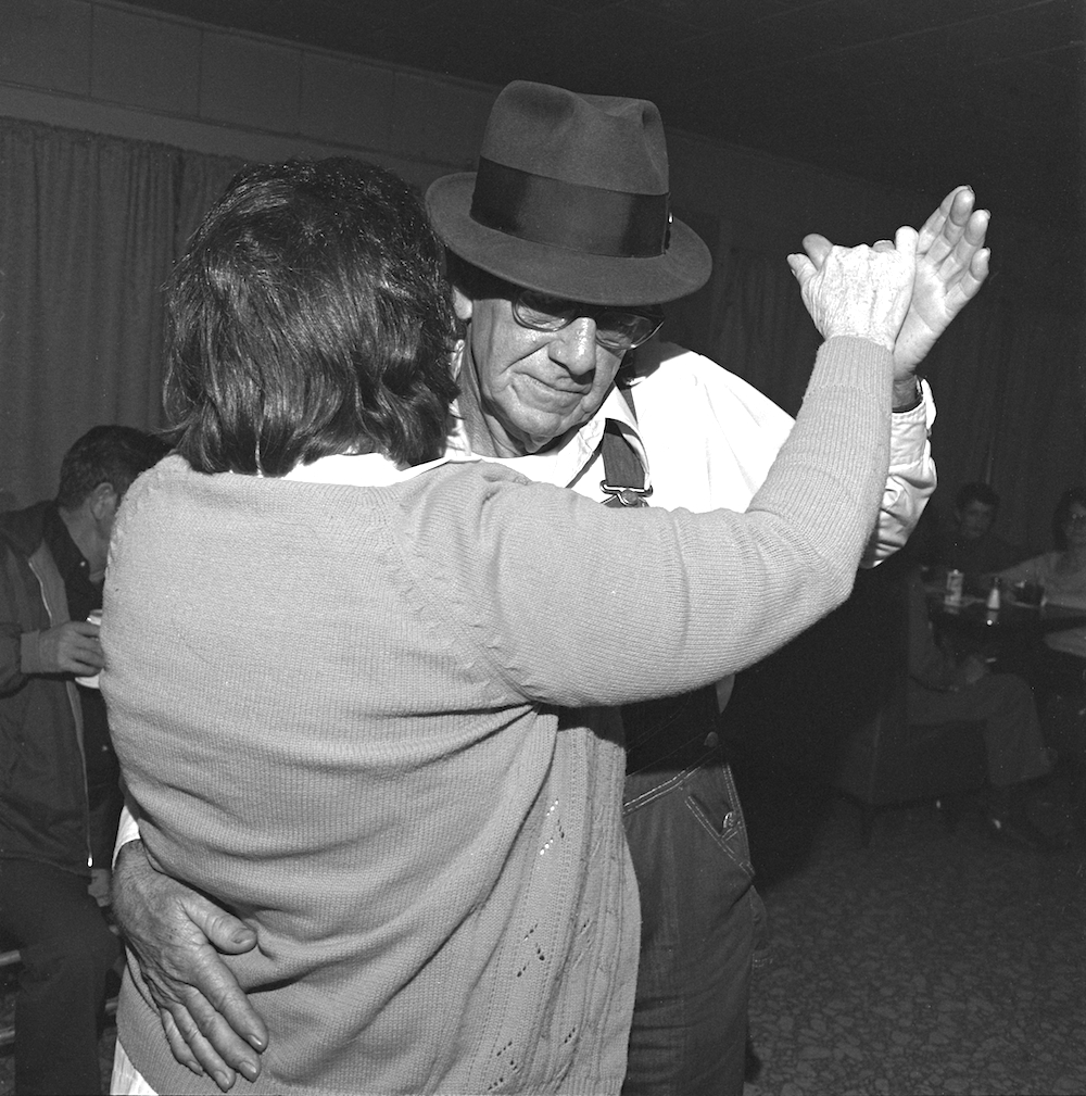 Dancers, Fred's Lounge, Mamou, LA, 1977